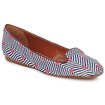 kengät Naiset Mokkasiinit Missoni VM036 Blue / Pink