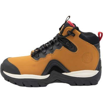 kengät Miehet Bootsit DC Shoes Navigator Leather Lace Winter Ruskea