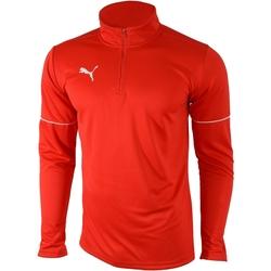 vaatteet Miehet Ulkoilutakki Puma Teamgoal 1/4 Zip Top Core Punainen
