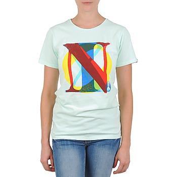 vaatteet Naiset Lyhythihainen t-paita Nixon PACIFIC Green