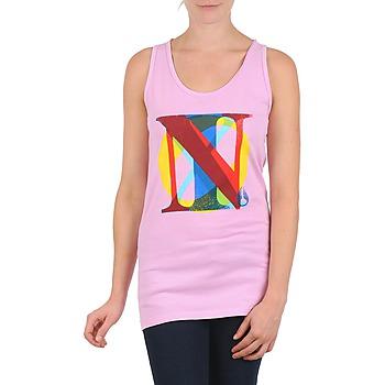 vaatteet Naiset Hihattomat paidat / Hihattomat t-paidat Nixon PACIFIC TANK Pink / Monivärinen