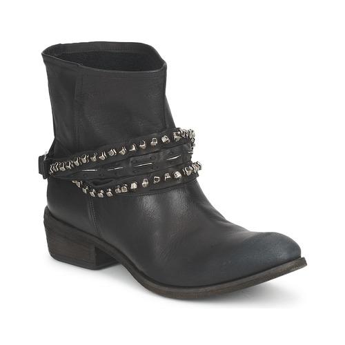 kengät Naiset Bootsit Strategia GRONI Black