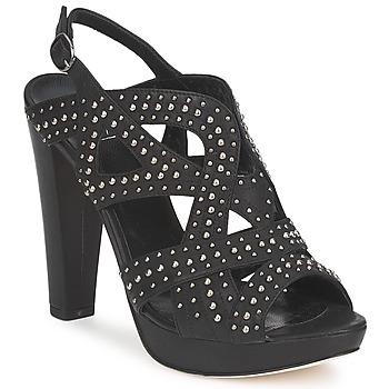 kengät Naiset Sandaalit ja avokkaat Strategia CLOUCLOU Black