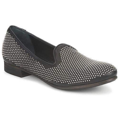 kengät Naiset Mokkasiinit Strategia CLOUPI Black