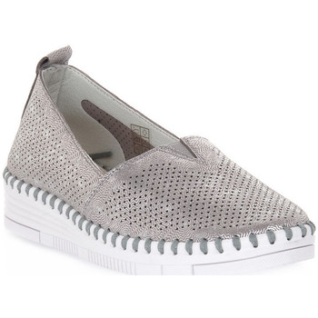 kengät Naiset Mokkasiinit Grunland ARGENTO F6 VIVY Grigio