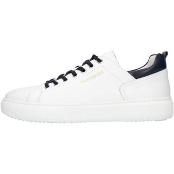 kengät Miehet Matalavartiset tennarit NeroGiardini E102020U White