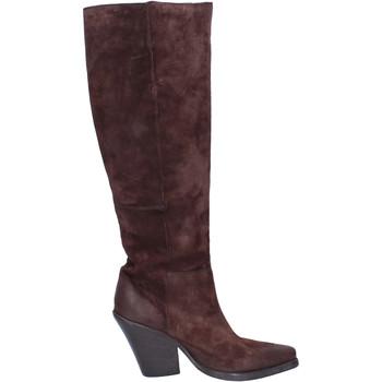 kengät Naiset Saappaat Moma BJ638 Ruskea