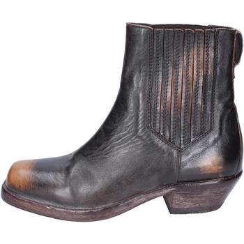 kengät Naiset Nilkkurit Moma BJ653 Ruskea