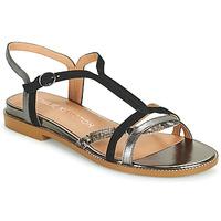kengät Naiset Sandaalit ja avokkaat Karston SOBIO Musta