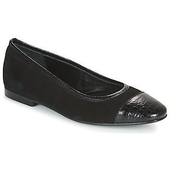 kengät Naiset Balleriinat JB Martin SUCCES Musta
