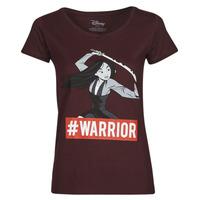 vaatteet Naiset Lyhythihainen t-paita Yurban OHKAV Viininpunainen