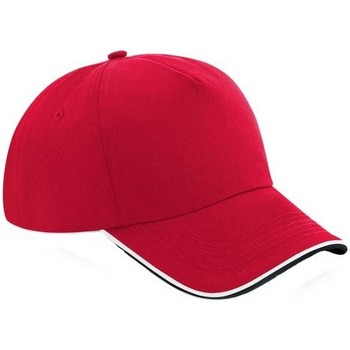 Asusteet / tarvikkeet Lippalakit Beechfield B25C Classic Red/Black/White