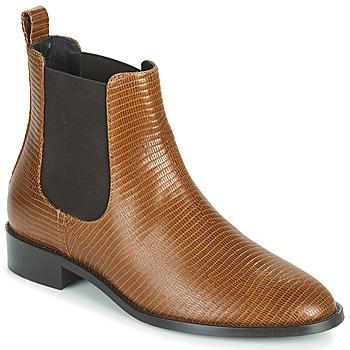 kengät Naiset Bootsit JB Martin ATTENTIVE Ruskea