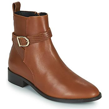 kengät Naiset Bootsit JB Martin AGREABLE Ruskea