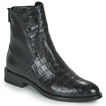 kengät Naiset Bootsit JB Martin OLIVIA Musta