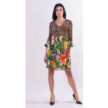 vaatteet Naiset Lyhyt mekko Fracomina FR21SD1008W422N4 Väritön