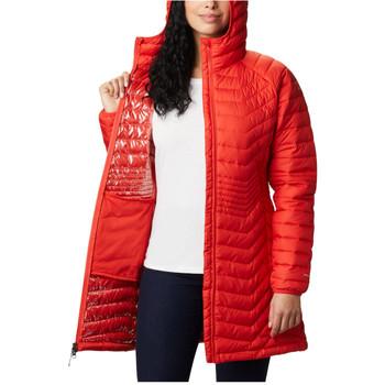 vaatteet Naiset Svetari Columbia Powder Lite Mid Jacket Orange