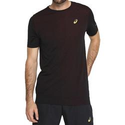 vaatteet Miehet Lyhythihainen t-paita Asics Gel-Cool SS Top Tee Noir