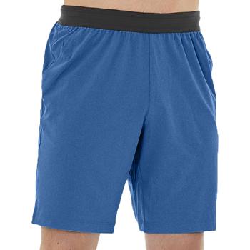 vaatteet Miehet Shortsit / Bermuda-shortsit Asics Woven Short 2031A359-400 Bleu