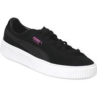 kengät Lapset Fitness / Training Puma Suede Platform JR Noir