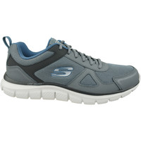 kengät Miehet Juoksukengät / Trail-kengät Skechers Track-Scloric 52631-GYNV Gris
