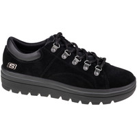 kengät Naiset Matalavartiset tennarit Skechers Street Cleats 2 Fashion Trail 74107-BBK Noir