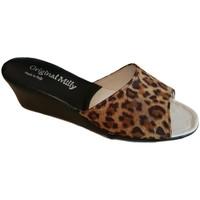 kengät Naiset Sandaalit Milly MILLY103animal nero