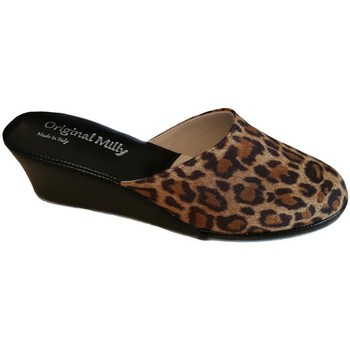 kengät Naiset Sandaalit Milly MILLY5000animal nero