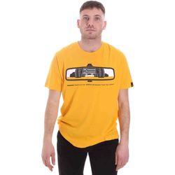 vaatteet Miehet Lyhythihainen t-paita Caterpillar 35CC2510234 Keltainen