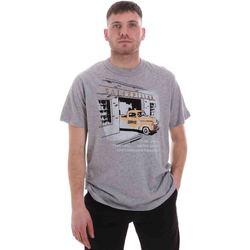 vaatteet Miehet Lyhythihainen t-paita Caterpillar 35CC2510217 Harmaa