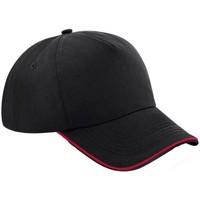 Asusteet / tarvikkeet Lippalakit Beechfield B25C Black/Classic Red