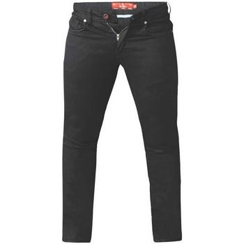 vaatteet Miehet Slim-farkut Duke  Black