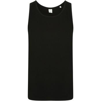 vaatteet Miehet Hihattomat paidat / Hihattomat t-paidat Skinni Fit SF123 Black