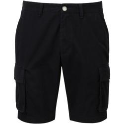 vaatteet Miehet Shortsit / Bermuda-shortsit Asquith & Fox AQ054 Black
