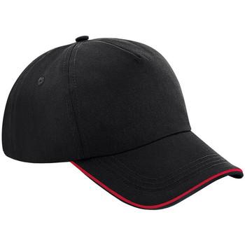 Asusteet / tarvikkeet Lippalakit Beechfield B25 Black/Classic Red