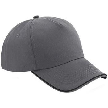 Asusteet / tarvikkeet Lippalakit Beechfield B25C Graphite Grey/Black
