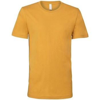 vaatteet Lyhythihainen t-paita Bella + Canvas CV001 Mustard Yellow