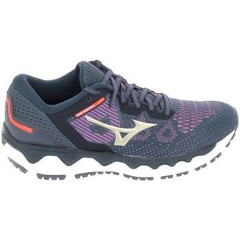 kengät Naiset Juoksukengät / Trail-kengät Mizuno Wave Horizon 5 Bleu Sininen