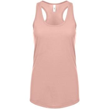 vaatteet Naiset Hihattomat paidat / Hihattomat t-paidat Next Level NX1533 Desert Pink