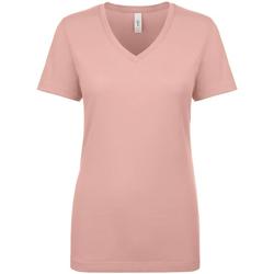vaatteet Naiset Lyhythihainen t-paita Next Level NX1540 Desert Pink