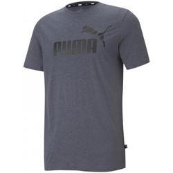 vaatteet Miehet Hihattomat paidat / Hihattomat t-paidat Puma Essentials Harmaa
