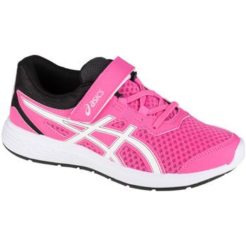 kengät Lapset Juoksukengät / Trail-kengät Asics Ikaia 9 PS Rose