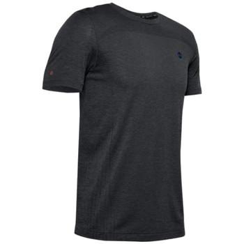 vaatteet Miehet Lyhythihainen t-paita Under Armour Rush Seamless Fitted SS Tee Noir