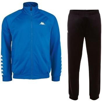 vaatteet Miehet Verryttelypuvut Kappa Till Training Suit Bleu
