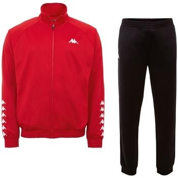 vaatteet Miehet Verryttelypuvut Kappa Till Training Suit Rouge