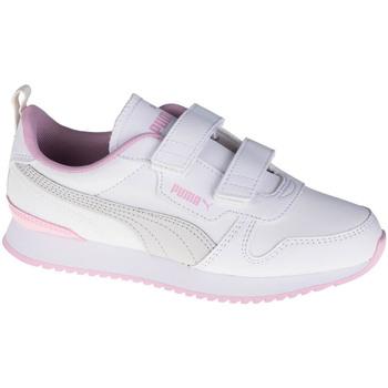 kengät Lapset Matalavartiset tennarit Puma R78 SL V PS Blanc