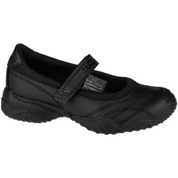 kengät Lapset Matalavartiset tennarit Skechers Velocity-Pouty Noir