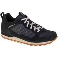 kengät Miehet Matalavartiset tennarit Merrell Alpine Sneaker Noir
