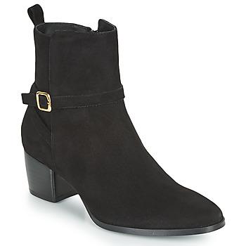 kengät Naiset Bootsit JB Martin AUDE Musta