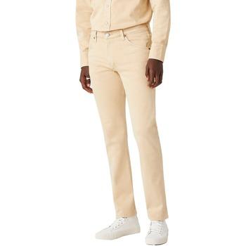 vaatteet Miehet Chino-housut / Porkkanahousut Wrangler Pantalon  11mwz sable